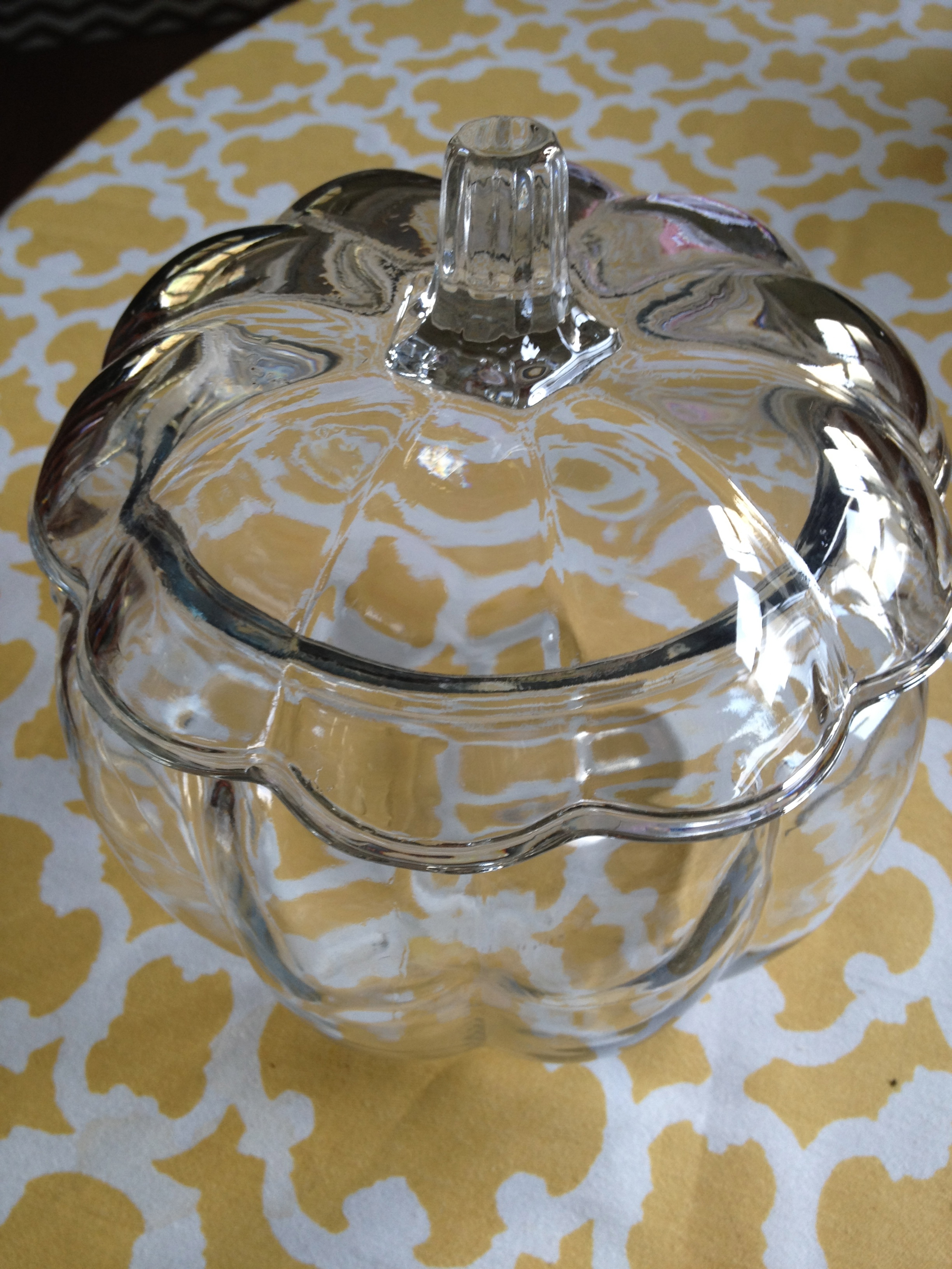 Pottery Barn Inspired Faux Mercury Glass Pumpkin Some