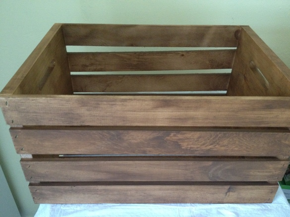 brown wood stain