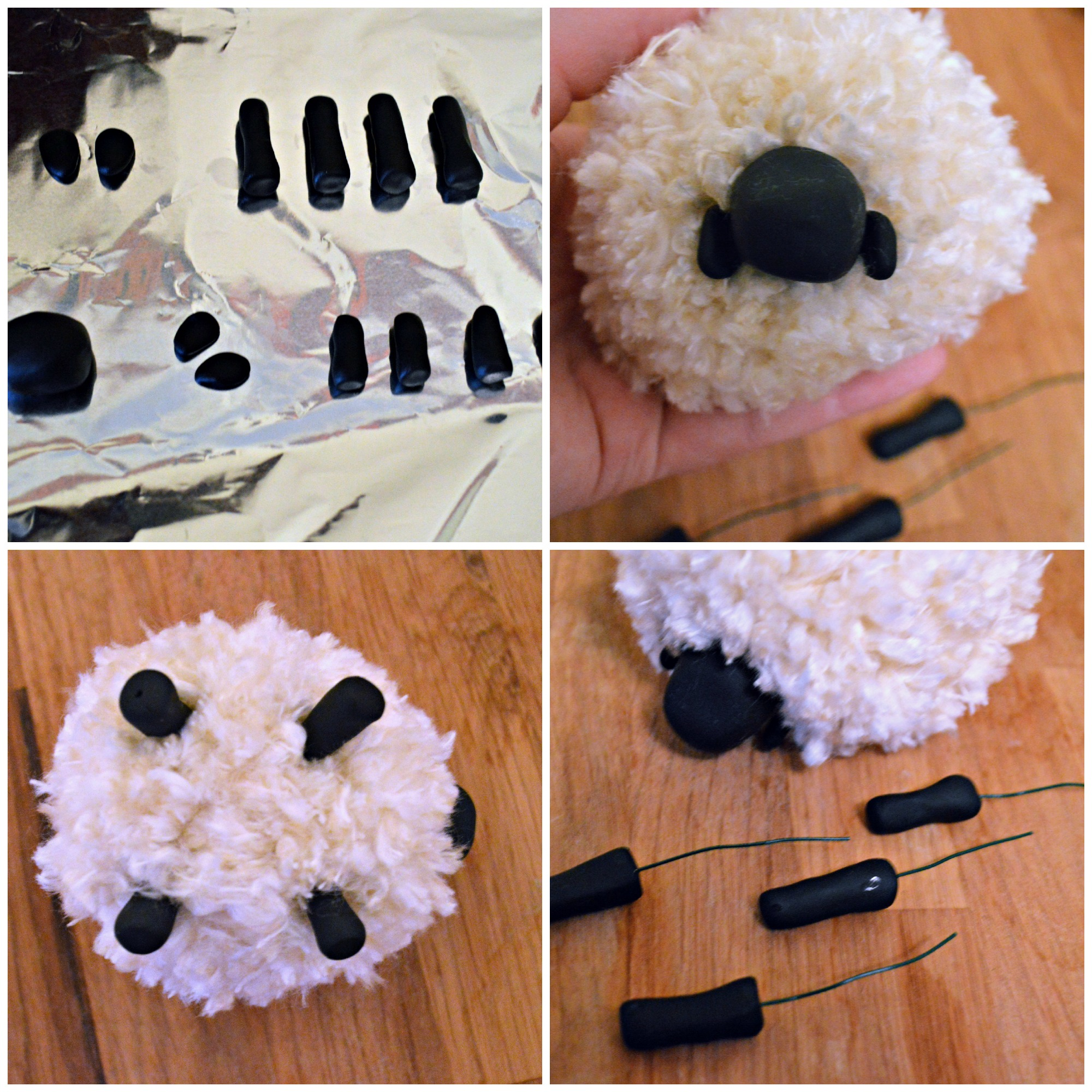 diy pom pom sheep some kind of lovely ride. Black Bedroom Furniture Sets. Home Design Ideas