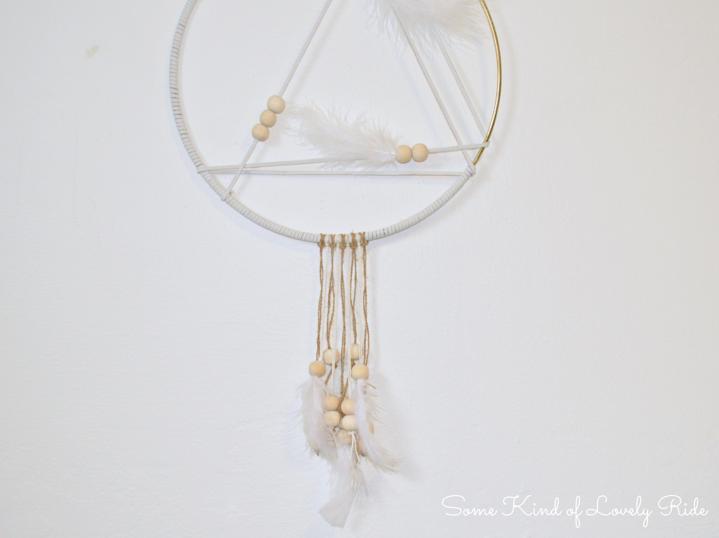 how to make a simple dreamcatcher step by step